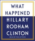 What Happened - Book