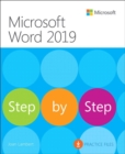 Microsoft Word 2019 Step by Step - Book