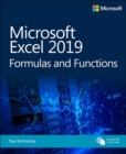 Microsoft Excel 2019 Formulas and Functions - Book