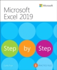 Microsoft Excel 2019 Step by Step - Book