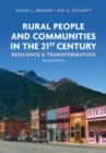 Rural People and Communities in the 21st Century : Resilience and Transformation - Book