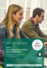 AAT Advanced Bookkeeping : Course Book - Book