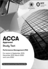 ACCA Performance Management : Workbook - Book