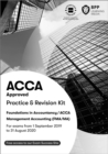 FIA Foundations in Management Accounting FMA (ACCA F2) : Practice and Revision Kit - Book