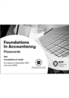 FIA Foundations in Audit (International) FAU INT : Passcards - Book
