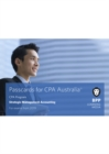 CPA Australia Strategic Management Accounting : Passcards - Book