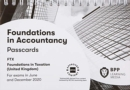 FIA Foundations in Taxation FTX FA2019 : Passcards - Book