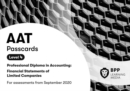 AAT Financial Statements of Limited Companies : Passcards - Book
