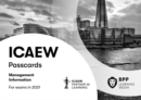 ICAEW Management Information : Passcards - Book