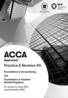 FIA Foundations in Taxation FTX FA2020 : Practice and Revision Kit - Book