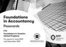 FIA Foundations in Taxation FTX FA2020 : Passcards - Book