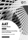 AAT Indirect Tax FA2020 : Course Book - Book