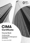 CIMA BA2 Fundamentals of Management Accounting : Course Book - Book