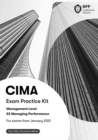 CIMA E2 Managing Performance : Exam Practice Kit - Book
