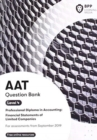 AAT Financial Statements of Limited Companies : Question Bank - Book