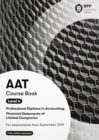 AAT Financial Statements of Limited Companies : Coursebook - Book