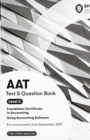 AAT Using Accounting Software : Combined Study Text & Question Bank - Book
