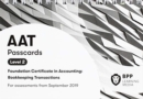 AAT Bookkeeping Transactions : Passcards - Book