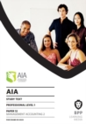 AIA 12 Management Accounting 2 : Study Text - Book