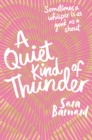 A Quiet Kind of Thunder - Book