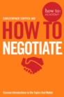 How To Negotiate - Book