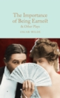 The Importance of Being Earnest & Other Plays - Book