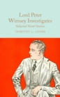 Lord Peter Wimsey Investigates : Selected Short Stories - Book