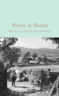 Poems on Nature - Book