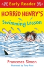 Horrid Henry Early Reader: Horrid Henry's Swimming Lesson - Book