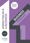 Aiming for an A in A-level Business - Book