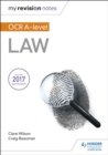 My Revision Notes: OCR A Level Law - Book