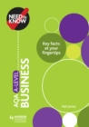Need to Know : AQA A-level Business - eBook