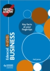 Need to Know: Edexcel A-level Business - eBook