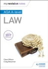 My Revision Notes: AQA A-level Law - Book