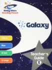 Reading Planet Galaxy Teacher's Guide E (Yellow - Orange) - Book