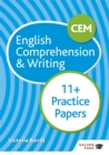 CEM 11+ English Comprehension & Writing Practice Papers - Book