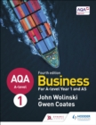 AQA A-level Business Year 1 and AS Fourth Edition (Wolinski and Coates) - eBook