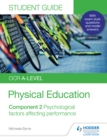 OCR A-level Physical Education Student Guide 2: Psychological factors affecting performance - eBook
