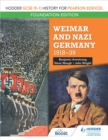 Hodder GCSE (9 1) History for Pearson Edexcel Foundation Edition: Weimar and Nazi Germany, 1918 39 - eBook