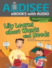 Lily Learns about Wants and Needs - eBook