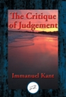 The Critique of Judgment : With Linked Table of Contents - eBook
