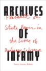 Archives of Infamy : Foucault on State Power in the Lives of Ordinary Citizens - Book