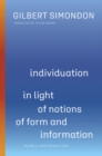 Individuation in Light of Notions of Form and Information : Volume II: Supplemental Texts - Book