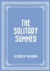The Solitary Summer - eBook