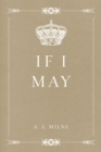 If I May - eBook