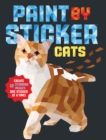 Paint by Sticker: Cats - Book