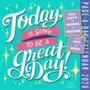 2020 Today is Going to be a Great Day! Colour Page-A-Day Calendar - Book