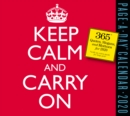 2020 Keep Calm and Carry on Page-A-Day Calendar - Book