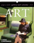 Art Page-A-Week Gallery Wall Calendar 2020 - Book