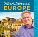 2020 Rick Steves Europe Colour Page-A-Day Calendar - Book
